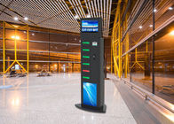 6 Lockers Advertising Cell Phone Charging Stations Kiosks Vending Machine for Airport Train Station