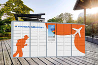 Smart Post Parcel Mailbox Delivery Locker Boxes For Campus School University