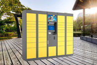 Storage Parcel Delivery Lockers for School Community with Touch Screen and API Interfaces