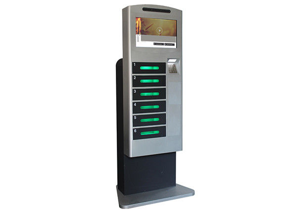 Cell Phone Tablet Electric Charging Stations , Mobile Charging Station Machine with LCD Displayer