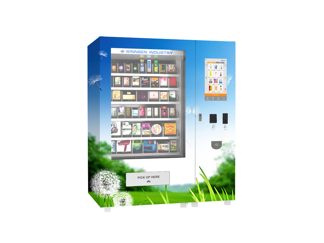 Smart Automatic Vending Machine , Commercial Small Snack Vending Machine