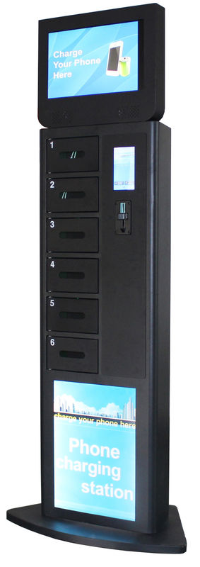Winnsen Cell Phone Charging Stations 19 inch Big Screen Digital Signage on Topa with Payment Device