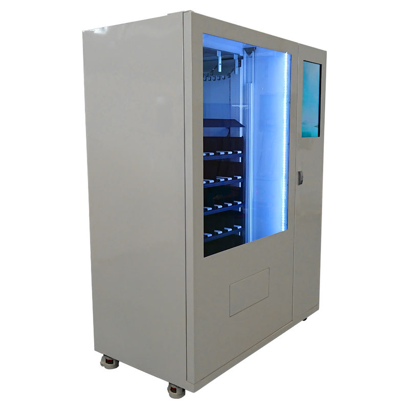 Salad Vegetables Glass Bottle Combo Vending Machine Indoor Big Touch Screen Non-touch Payment Option